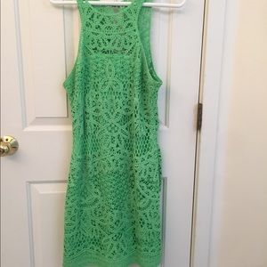 Lilly Pulitzer Crochet Shift Dress - worn once